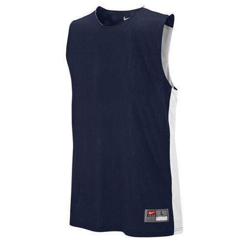 Nike Tank Top Singlet M League Rev Practice, TM Navy/TM White, S, 626702-420