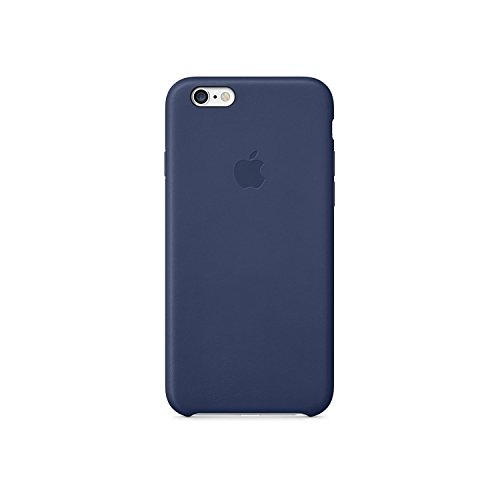 House of Quirk Iphone 6S Case Minimalistic True Fit Leather Case(Blue)