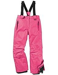 Pantalón de esquí para niña Snowboard Pantalones Pantalones para la nieve invierno Pantalón 146/152Color Rosa