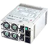 FANTEC TC-400R8A PC Netzteil 2 x 400 W EPS mini-redundant