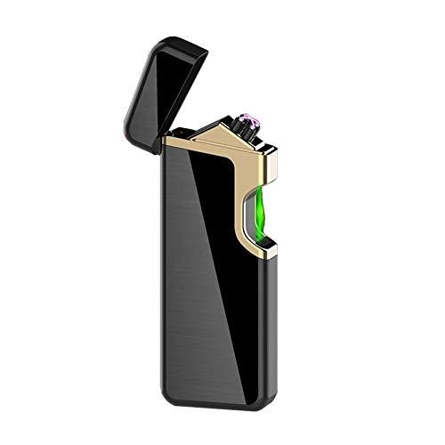 DBG Feuerzeug Plasma Feuerzeug USB Aufladbar Feuerzeug Windfestes Flammloses USB Feuerzeug Plasma Feuerzeug für Küche, Grill, Kerzen