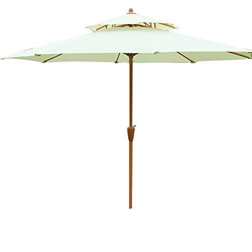 2.7m ombrello da esterno in paglia artificiale ombrellone da esterno da ombrellone da tavolo ombrellone ombrellone pulsante ombrellone ombrellone ombrellone da giardino ldfz