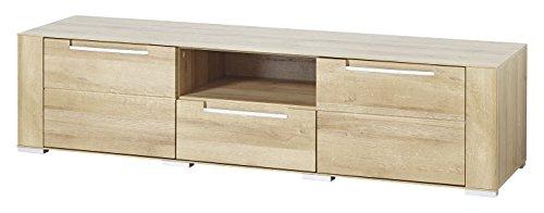 Paul DORRA61032 Lowboard, Holz, braun, 47 x 170 x 43 cm