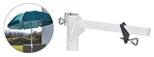 Gravidus Sonnenschirmhalter Balkonschirm Sonnenschirm Halterung für Balkon