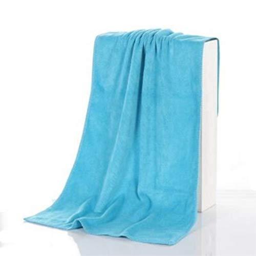 dusg Autowäsche großes Handtuch Verdickung, Reinigung trockenes Handtuch, sauberes Handtuch aus reinem Polyester Handtuch Autowäsche Reinigungstuch, 10 Stück, blau, 30 * 70cm