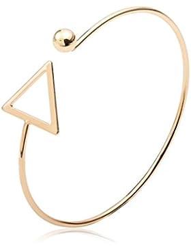 Sunnywill Hohle Dreieck Arm Manschette Armbinde Armband Armreif Armband trendigen Schmuck für Frauen Mädchen Damen