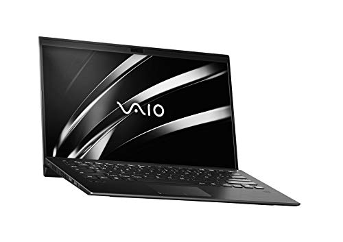 VAIO SX14 Laptop 35,56 cm (14 Zoll) (Full -HD IPS-Display, Intel Core i5- 8265U, 256 GB SSD, 8GB LPDDR3 RAM, Windows 10 Pro, LTE, W-LAN, Bluetooth, HDMI, USB 3.1, Webcam) Notebook, Schwarz