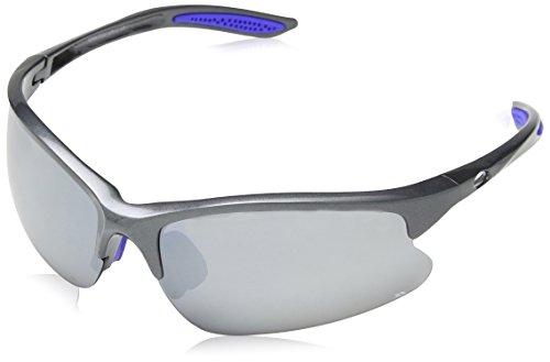 Trespass Mantivu, Dark Grey, Sonnenbrille Kategorie 3 Gläser mit UV-Schutz & Brillenputztuch, Grau