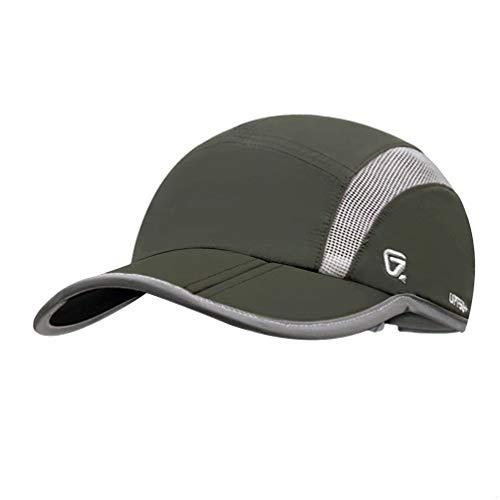 GADIEMENSS Quick Dry Sports Hat Lightweight Breathable