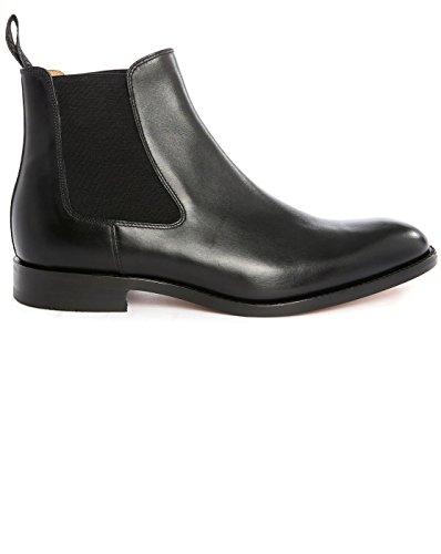 loake-uomo-chelsea-boots-cuir-noir-petworth-pour-homme-