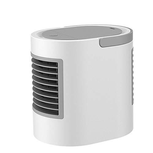 RIDJ Mini-Klimaanlage tragbare Desktop-Luftkühler Kühl-Luftbefeuchtung Fan LED Nachtlicht Büro Küche Innenraum - Wasser Schweiß Widerstehen