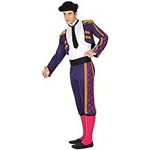 Atosa 26808 - toreros españoles, hombres traje, tamaño 50/52, lila
