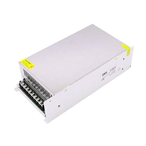 High Power 12V 60A 720W DC Wandler Netzteil für LED Eingang AC 220V - Silber 60a Netzteil