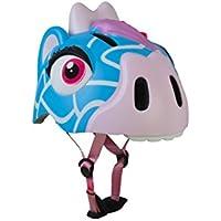 Crazy safety Pixie the Fable Giraffe casco para bicicleta niña, azul, talla S