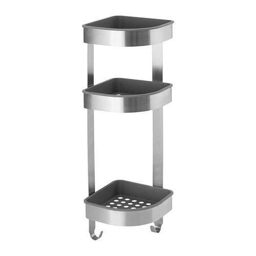 Accesorios Bano Sin Taladro Ikea.Estanterias De Acero Inoxidable Ikea Productos365 Com
