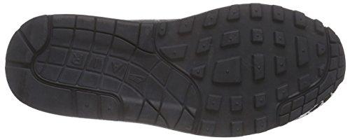 Nike Air Max 1 Jacquard, Chaussures de Running Compétition Femme Noir (Black/White/Metallic Silver)