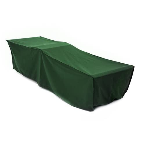 31wbMKr2imL. SS500  - Gardenista GREEN Sun Lounger Outdoor Sunbed Cover in Premium Heavy Duty Waterproof Canvas. Made in the UK.