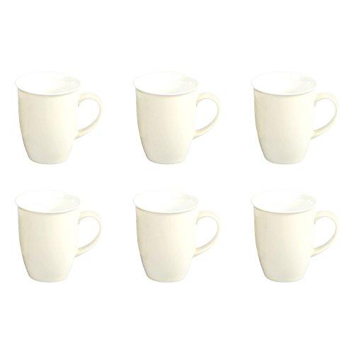 Ritzenhoff & Breker 6 Kaffeebecher 320ml Doppio creme - Flirt