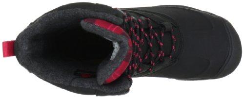 Keen SNOWDEN W-BLACK/BARBERRY 1007955, Stivali da neve donna Rosso (Rot (Black/Barberry))