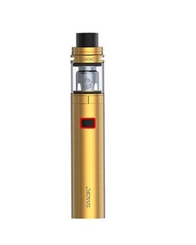 Authentic SMOK Stick X8 Vape Pen Kit 3000mAh E-Cigarette with TFV8 X-Baby TANK 2mL TPD Compliant Electronic Cigarette No E Liquid, Nicotine Free(Gold)