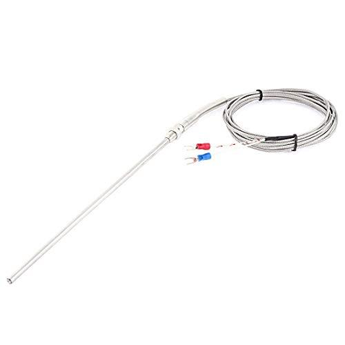 K Typ Thermoelement Sonde Temperatur Kontrolle 0-400C Fühler 3M Gabel Sensor DE -