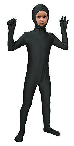Sheface Kids Spandex Face Out Bodysuit Fancy Dress Costume (Medium, ()