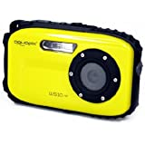 Aquapix 12001 W510-Y Unterwasserkamera (6,9 cm (2,7 Zoll) LTPS-Display, 5 Megapixel CMOS Sensor, 640x480 VGA) neon gelb