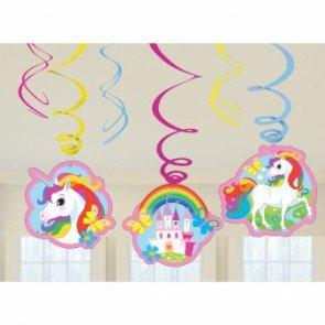 Preisvergleich Produktbild Amscan International 9902115Einhorn Swirl Dekoration Kit