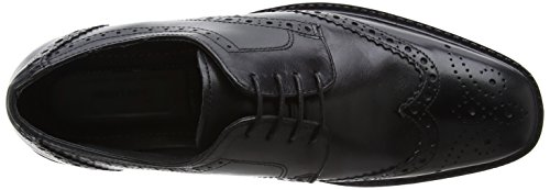 Red Tape - Maglin, Scarpe Brogue Uomo Black (Black)