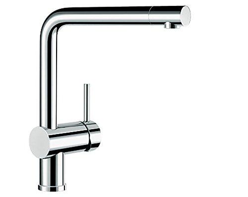 Preisvergleich Produktbild Blanco LINUS Küchenarmatur, metallische Oberfläche, chrom, Niederdruck, 1 Stück, 514020