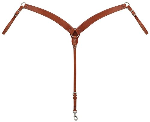 Geformten Brust (Weaver Leder geformten Brust Halsband, Canyon Rose)