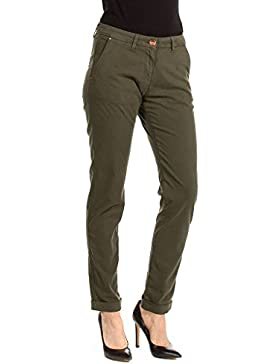 Carrera Jeans - Chino 780 para mujer, color liso, ajuste regular, cintura normal