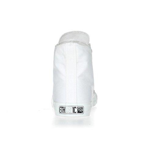 Ethletic Sneaker HiCut Collection 17 aus Bio-Baumwolle – just white / weiß – nachhaltig & fairer High-Sneaker - 4