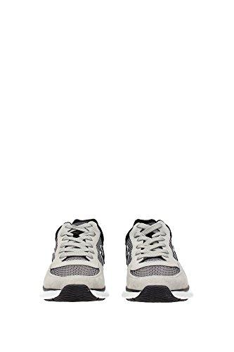 HXM2540S421BZC456G Hogan Sneakers Uomo Tessuto Grigio Grigio