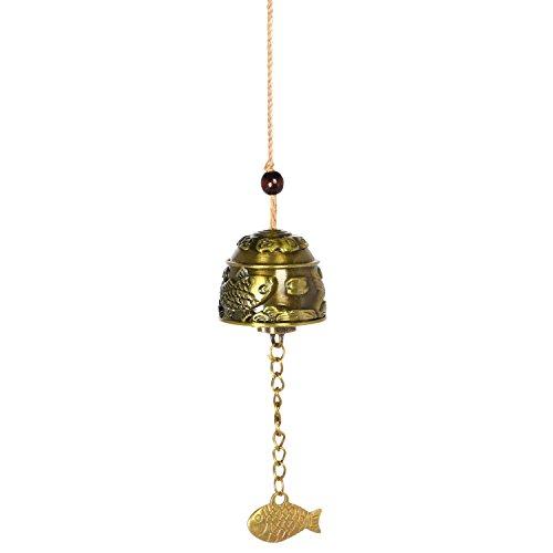 Chinesische Drachen (Chinesische Drachen Feng-Shui-Glocke Segen Glück Glück Hängen Windspiel)