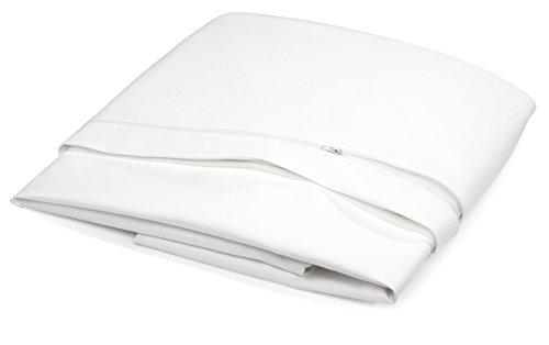 benevit Allergikerbettwäsche, Evolon, weiß, 140 x 200 cm (Allergen Matratzenbezug)