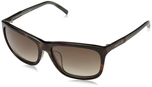 Tommy Hilfiger Unisex-Erwachsene 762753436986 Sonnenbrille, Braun, 60