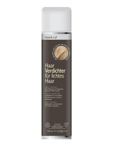 Haarverdichtungsspray HairFor2 hellblond 400ml Jumbo-Dose