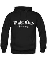 "Fight Club Germany Kapuzenpullover & Jogginghose Set,Hardcore ""Schwarz"""