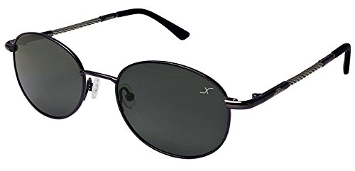 Xezo Mustang Titanium, Cable Polarized Designer Sunglasses Eyeglasses. Golf Driving