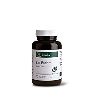 Bio BRAHMI Bacopa Monnieri CLASSIC AYURVEDA 60g ca. 150 Tabletten