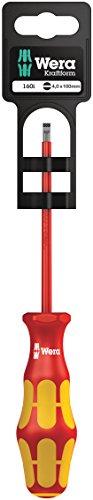 Wera 160 i SB VDE-isolierter Schlitz-Schraubendreher SB, 0,8 x 4,0 x 100 mm, 05100003001