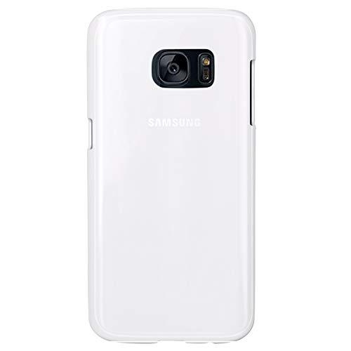 Mr. & Mrs. Panda Handy, Hülle, Samsung Galaxy S7 Handyhülle Einhorn Superman Geburtstag mit Spruch - Farbe Weiß