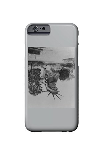 Head of Statue of Liberty in Paris Park - Vintage Photograph (iPhone 6 Cell Phone Case, Slim Barely There)