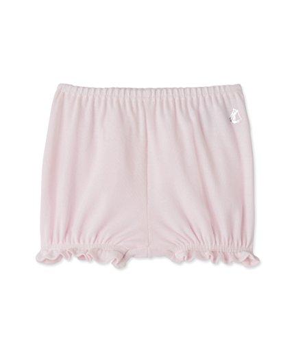 Petit Bateau Baumwoll-höschen (Petit Bateau Baby - Mädchen Shorts Culotte_22023 22023, Einfarbig, Gr. 62 (Herstellergröße:3m/60cm), Rosa (vienne 18))