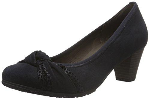 Gabor Shoes Basic, Scarpe con Tacco Donna Blu (pazifik/ocean 16)
