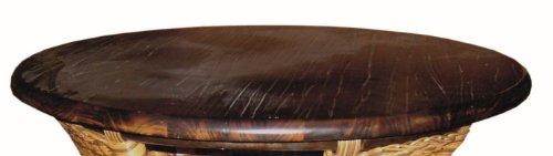 XMC VOGI Holzplatte - rund in cabana