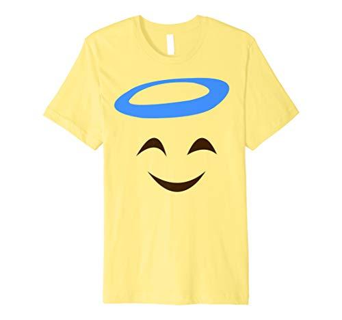 Engel Lachen Emoji Lustiges Karneval Shirt Faschings ()