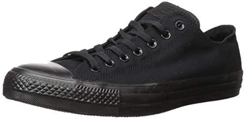Converse Chuck Taylor All Star, Unisex - Erwachsene Sneaker, Schwarz (Black Mono), Gr.45 EU Schwarz Chuck Taylor