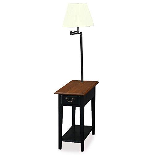 LEICK Möbel chairside Lampe Tisch Traditionell schwarz - Home Decor Traditionellen Tisch-lampe